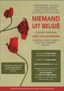 Boekpresentatie : Niemand uit België @ HET MUSEUM DR. GUISLAIN | Gent | Vlaanderen | België
